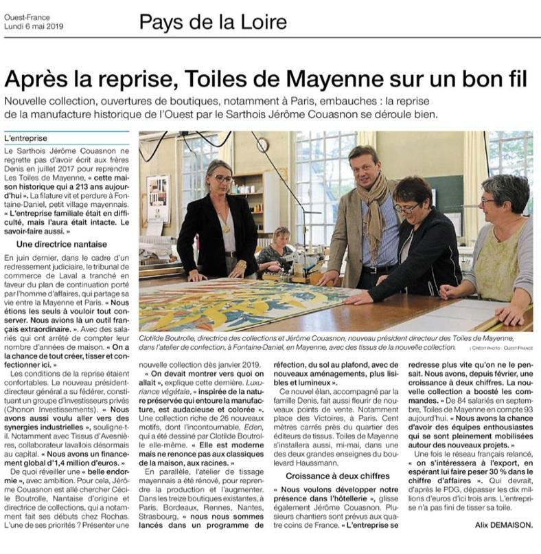 OF - mai Les Toiles de Mayenne