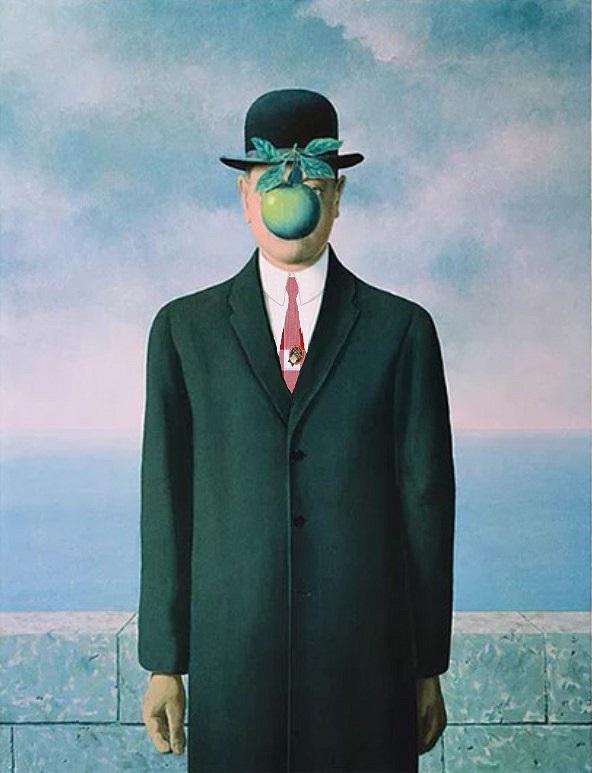 Magritte cravatte