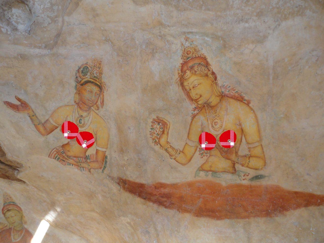 Sigiriya Rocher du lion Sri Lanka les demoisellesde cholet